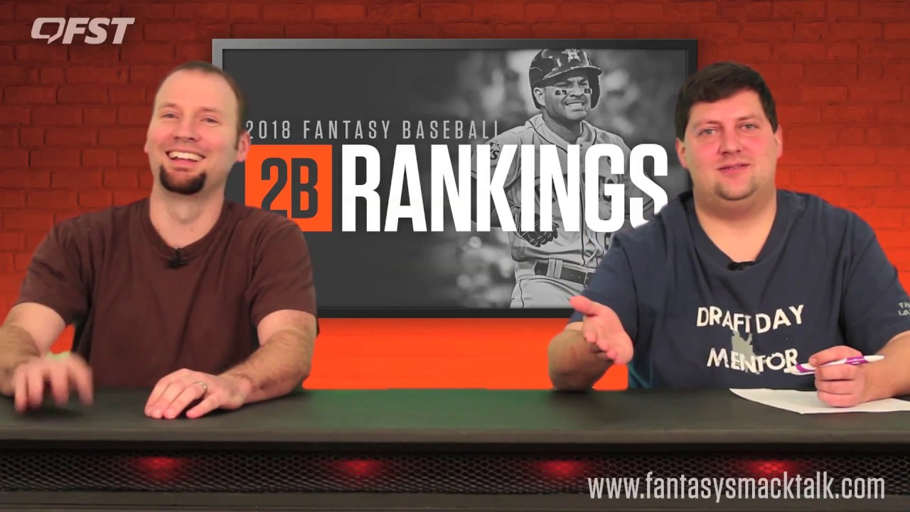 2018 Fantasy Baseball Second Base Rankings thumbnail