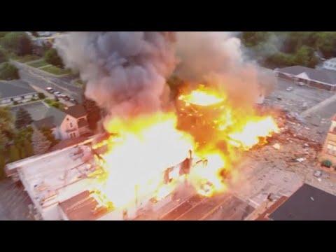 Firefighter killed in Wisconsin explosion identified