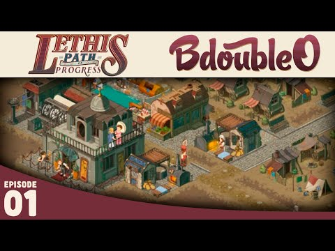 Lethis Path of Progress :: STEAMPUNK CITY BUILDER! :: Part 1 [Gameplay w/ Bdoubleo100]