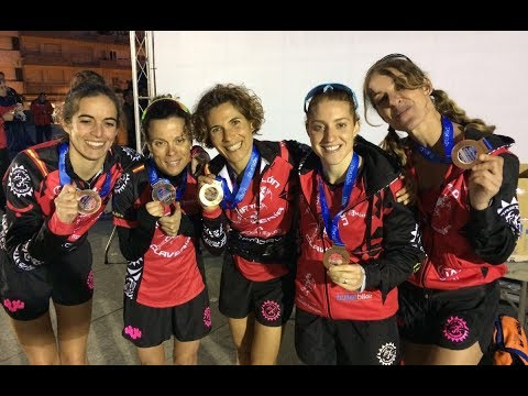 Test-26: Podios de Ana Mariblanca en Contrareloj y Relevos en Boiro 2017 con las ClaveriaGirls. TeamClaveria Files 03/2017