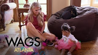 Video WAGS Atlanta | Kaylin Jurrjens Babysits Kierra Douglas' Daughter | E! MP3, 3GP, MP4, WEBM, AVI, FLV Maret 2018
