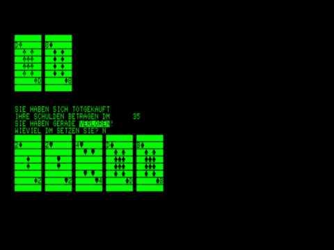 17 und 4 for the Commodore PET\\Commodore CBM