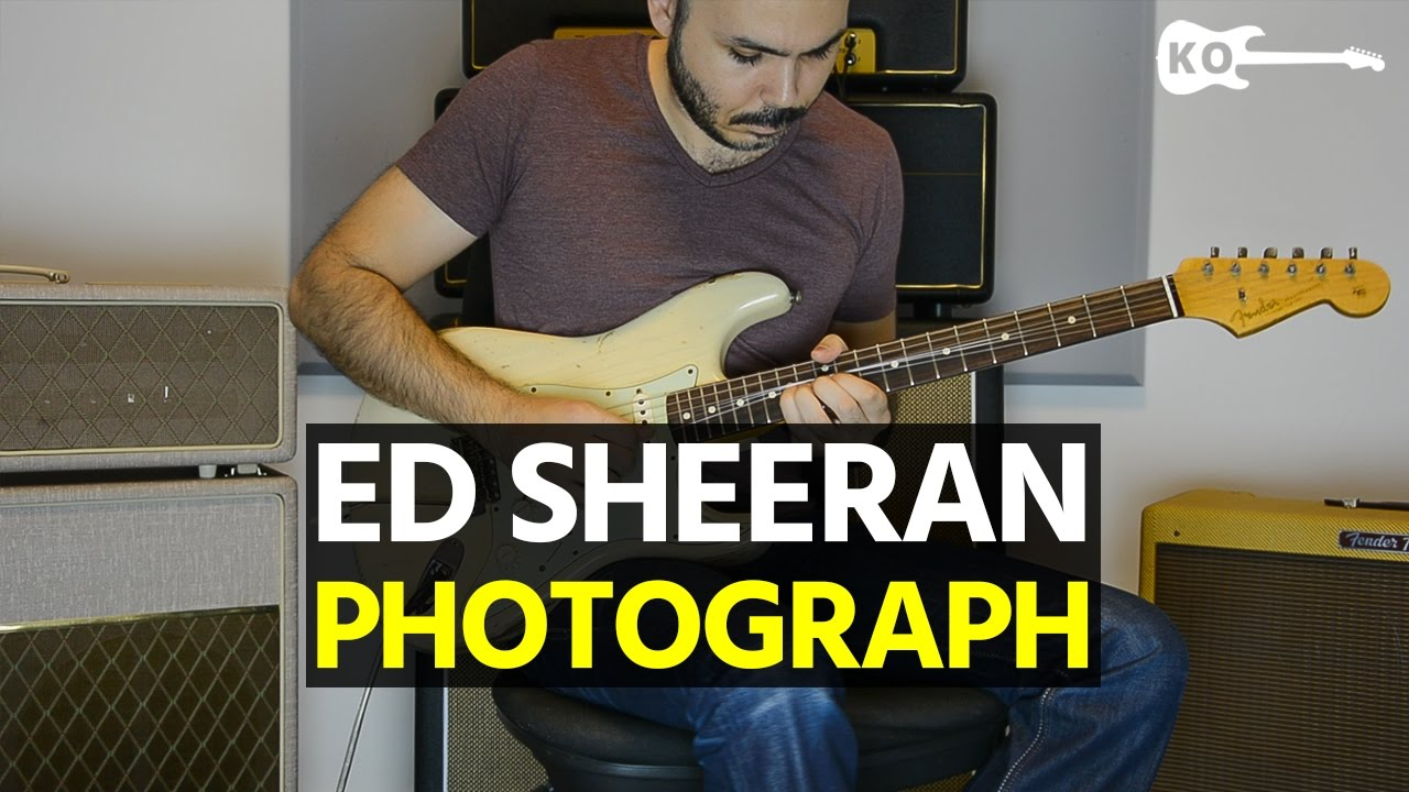 Ed Sheeran – Photograph – Electric Guitar Cover by Kfir Ochaion