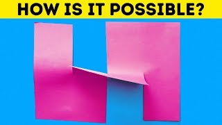 Video 20 MAGICAL DIY ILLUSIONS FOR KIDS AND ADULTS MP3, 3GP, MP4, WEBM, AVI, FLV September 2018