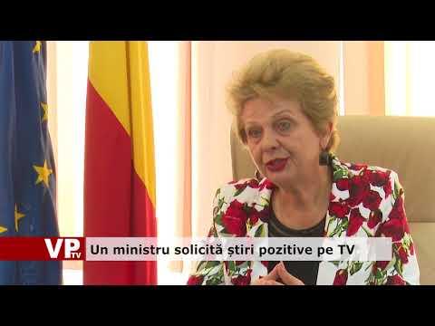 Un ministru solicită știri pozitive pe TV