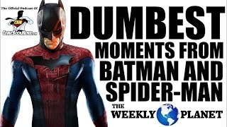 Dumbest Moments From BATMAN & SPIDER-MAN