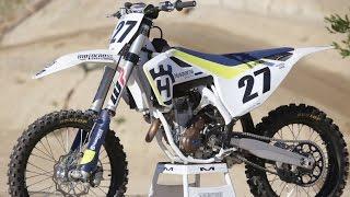 2. First Ride Husqvarna FC350 - Motocross Action
