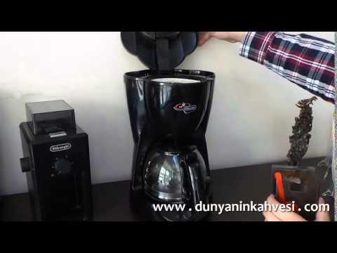 Filtre Kahve Nasıl Yapılır, Tüyolar & Delonghi Filtre Kahve Makinesi