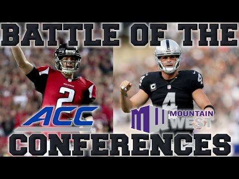 Which Conference Produces the Best NFL Players? | Mountain West vs ACC (видео)