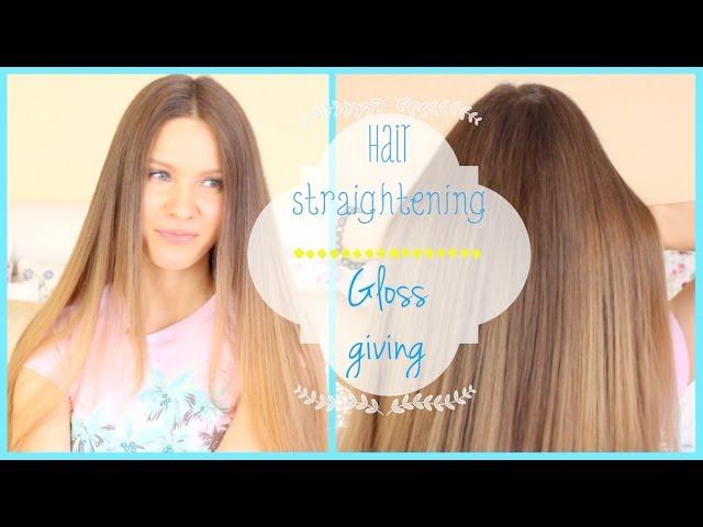 как сделать волосы идеально ровными