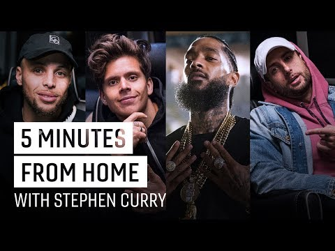 Overtime: Rudy Mancuso, Nipsey Hussle & More on Creativity | 5 Minutes from Home with Stephen Curry