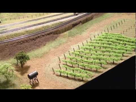 How to Plant an N-Scale Vineyard   14x12