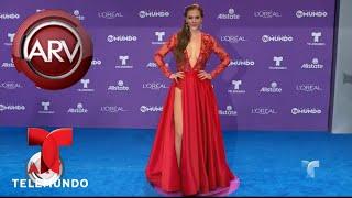 Aracely Arámbula se lució con su vestido en Premios Tu Mundo | Al Rojo Vivo