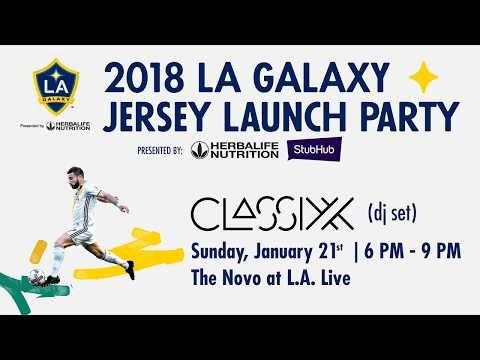 Video: LA Galaxy 2018 Kickoff event
