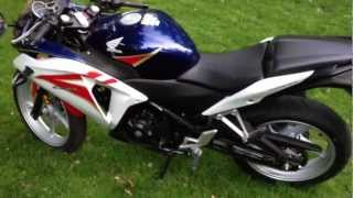 8. Honda CBR 250R 2012 Review Tri-color