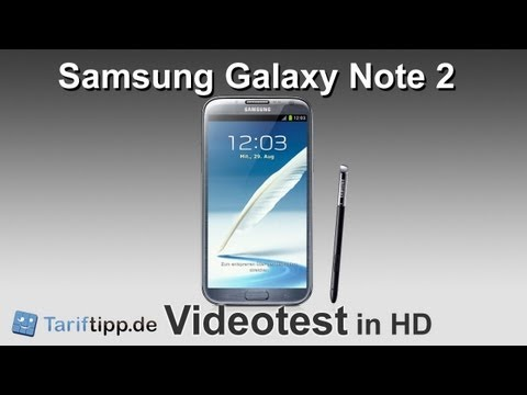 Samsung Galaxy Note 2 | Test in HD (deutsch)