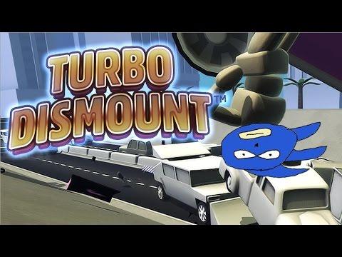Turbo Dismount - SANIC GO FAST (видео)