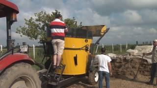 4 m³ Yem Karma Makineleri/Feed Mixer Vagons