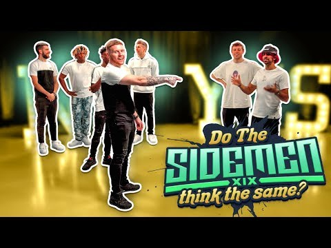 Do all the Sidemen think the same? #3