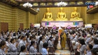 Truyền Hình Trực Tiếp: Khóa tu Ngày An Lạc & Tuổi Trẻ Hướng Phật