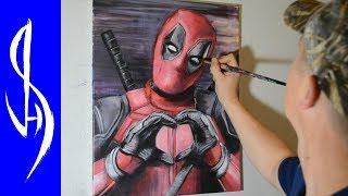 Painting Deadpool with acrylic paints on canvas►  See the Final Picturehttp://jonathanstephenharris.com/gallery/paintings/deadpool-painting►  Pre-order My Optical Illusion Drawing Book https://www.amazon.com/dp/1633223558Materials used:  16x20 stretched canvas, acrylic paintsThank you for watching!Connect With Me On Social: WEBSITE:    http://www.jonathanstephenharris.comFACEBOOK: https://www.facebook.com/Jonathan.Stephen.HarrisFACEBOOK: https://www.facebook.com/JSHStudioGalleryINSTAGRAM: http://instagram.com/jonathanstephenharrisSOCIETY6:    http://society6.com/JSHartsSAATCHIART:   http://www.saatchiart.com/jshPATREON:         https://www.patreon.com/JSH