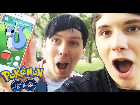 WHAT TEAM? - Dan and Phil play Pokemon GO! #2