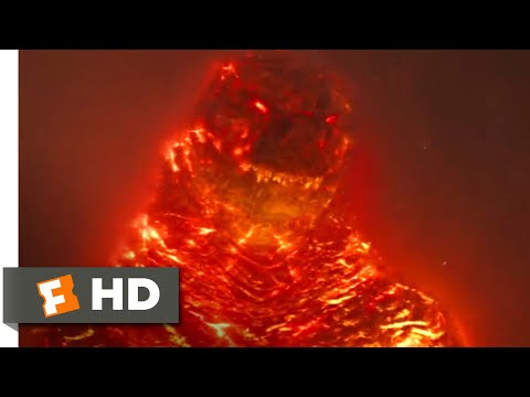 Godzilla: King of the Monsters (2019) - Burning Godzilla Scene (10/10) | Movieclips