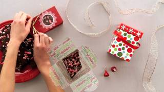 HERSHEY'S Dark Chocolate Peppermint Bark