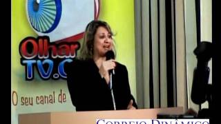 Professora Loiva Pereira e seu orgulho pelo OlharTV.com