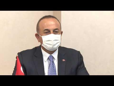 Президент Молдовы провел встречу с Министром иностранных дел Турции