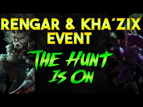 Khazix / Rengar Event - The Hunt Is On - League Of Legends German