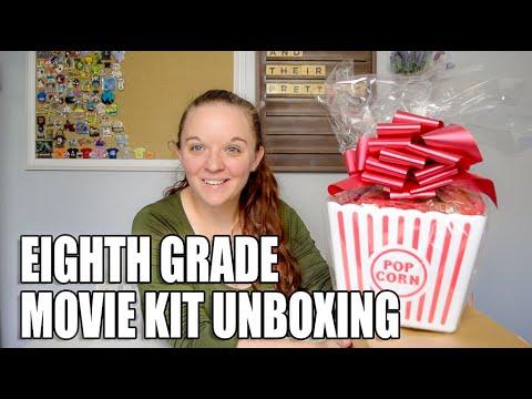 Eighth Grade Movie Kit Unboxing | Promotional Kit