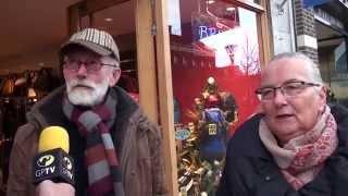 Straatpraat over kerstacties voor goede doelen