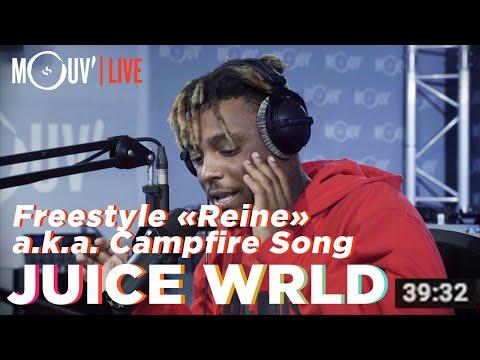 """Juice WRLD freestyle sur """"Reine"""" de Dadju / """"Campfire Song"""" [official]"""