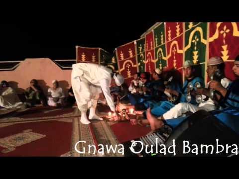 "MàaLam Younes Hadir -""_ Lailaha iLa Lah _""-  Gnawa Oulad Bambra"