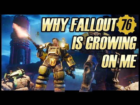 WHY FALLOUT 76 IS GROWING ON ME видео