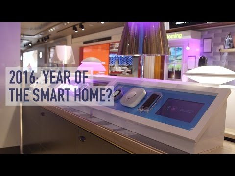 The Smart Home: Will 2016 be the year of the connected home?