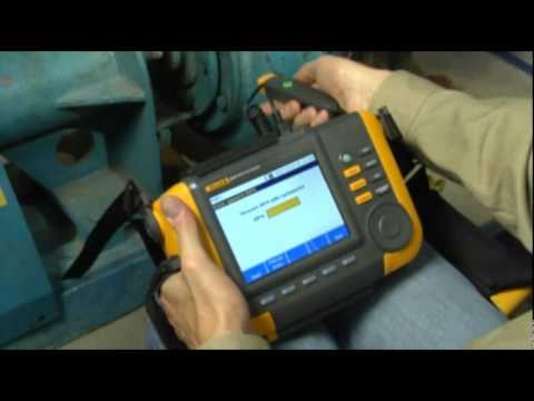 Advanced Vibration Tester | Fluke 810 Video Image
