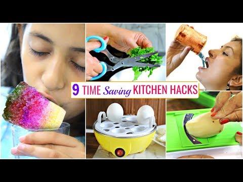 9 TIME Saving KITCHEN HACKS You Must Know .. | #Sale #Budget #CookWithNisha
