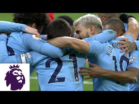 Video: Sergio Aguero scores for Man City within first 30 seconds v. Newcastle   Premier League   NBC Sports