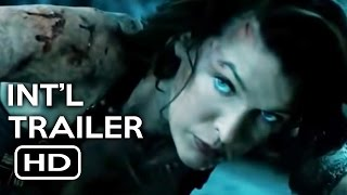 Resident Evil: The Final Chapter Official International Trailer #1 (2017) Milla Jovovich Movie HD by Zero Media