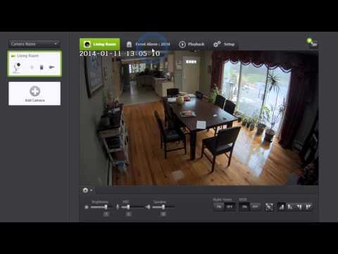Samsung Smartcam HD Pro Wireless IP Camera Web Viewer Settings