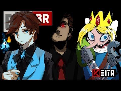 🔴 Rap dos Bad End Friends   Ice Finn - Dipper Gleeful - Evil Morty   Kêita Beats (видео)
