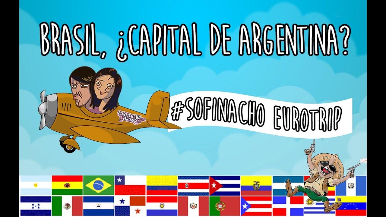Brasil, ¿Capital de Argentina? | Copa América Eurotrip