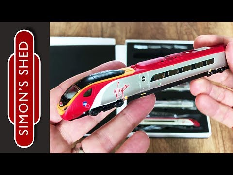 Revolution Trains Pendolino unboxing - n gauge model trains