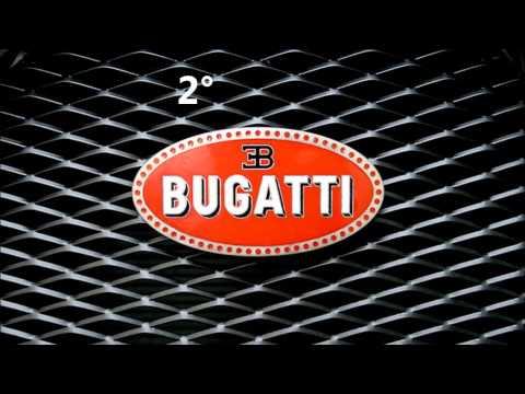le tre auto più veloci al mondo