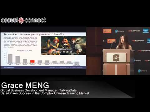 Success in the Chinese Gaming Market | Grace MENG