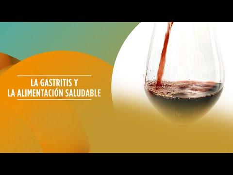 La gastritis y la alimentación saludable