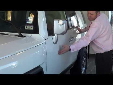 A in depth Walk Around video of a 2013 Toyota FJ Cruiser.