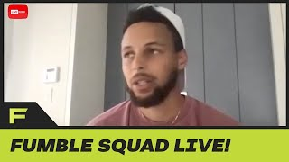 Steph Curry Faces MAJOR BACKLASH On Facebook After Asking People To Wear Masks! | Fumble Live by Obsev Sports